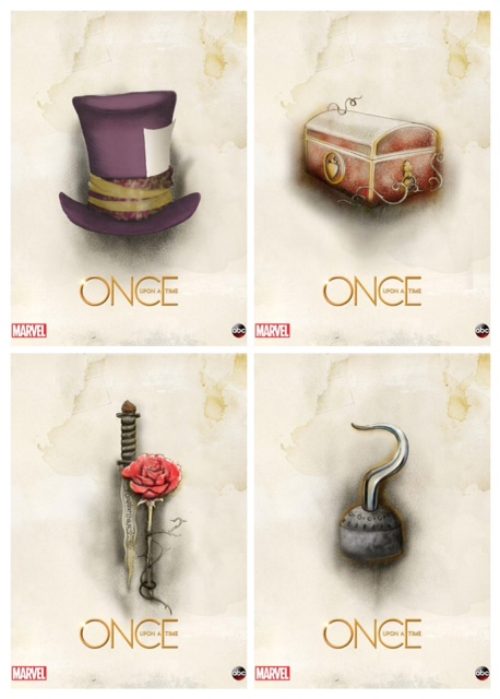 News once upon a time teams with marvel for origin story comic